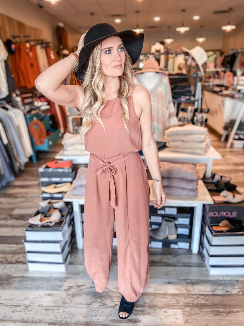 Emory Sleeveless Jumpsuit
