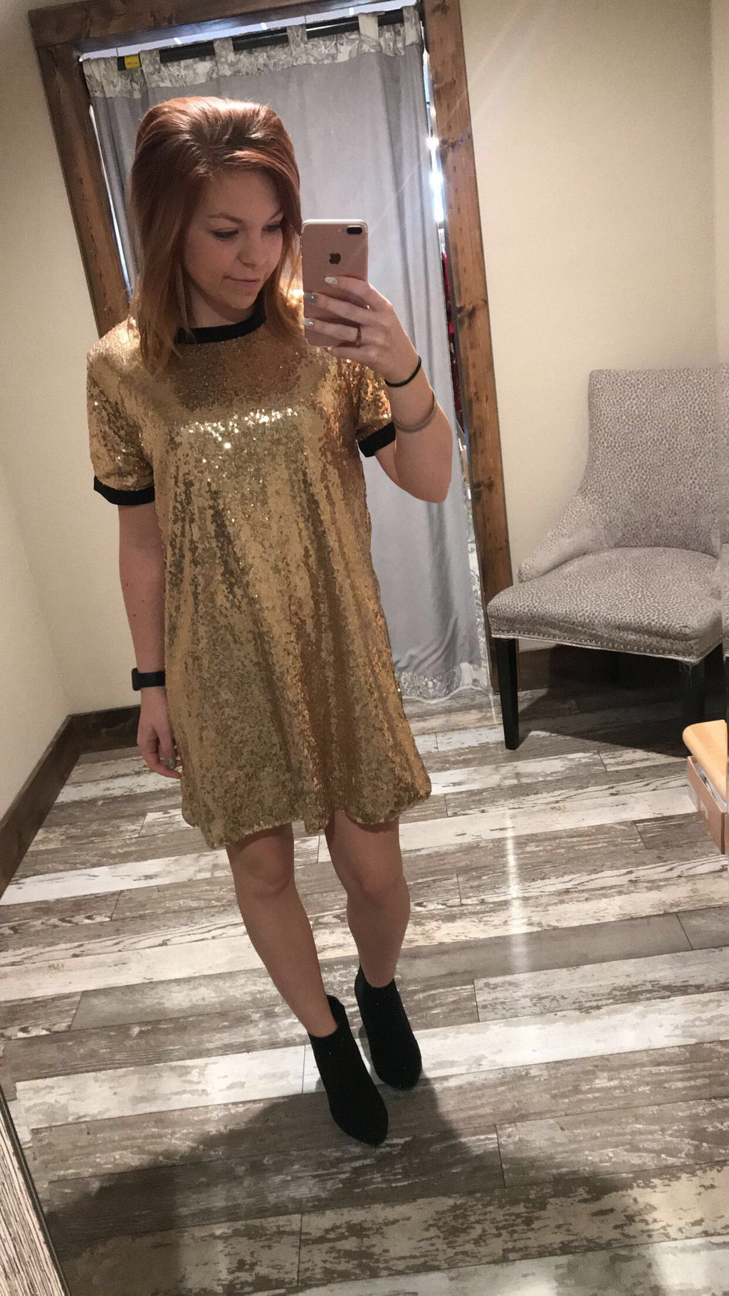 Shine On Cocktail Dress