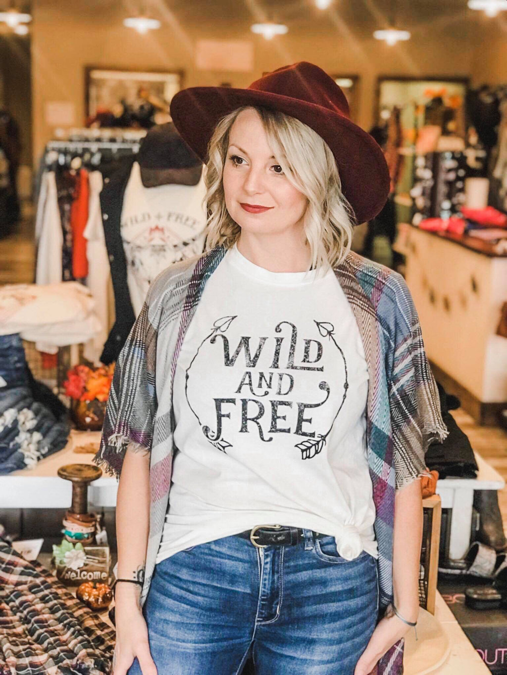 Wild and Free Graphic T-shirt
