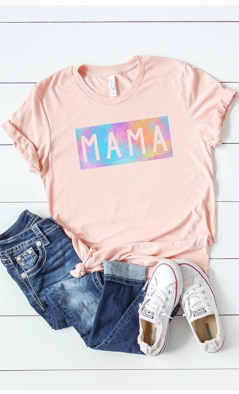 Curvy Mama Watercolor Graphic