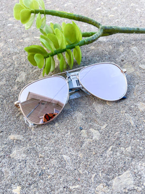 Anika Aviator Sunglasses - Trendsetters Fashion Boutique