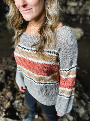 Maria Ribbed Knit Sweater