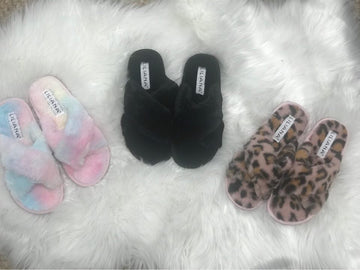 Emily Faux Fur Slippers