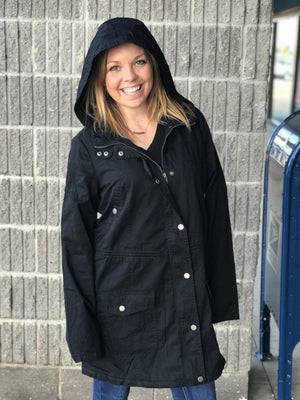 Brooklyn Black Fall Jacket