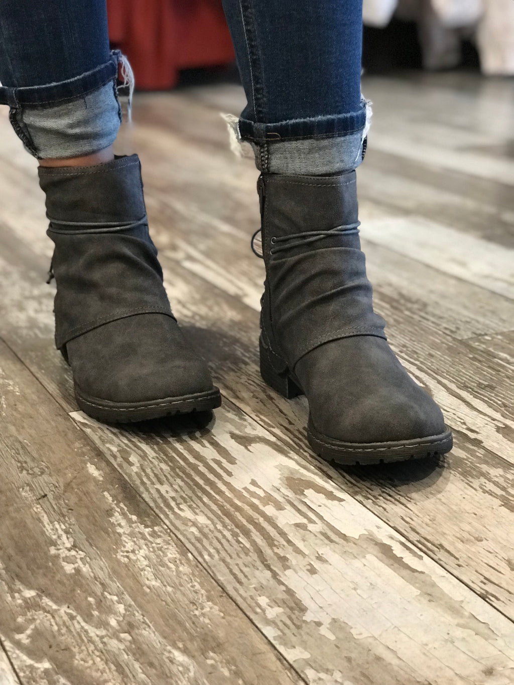 Bruno Ankle Combat Boots