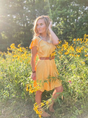 Polly Sunshine Babydoll Dress