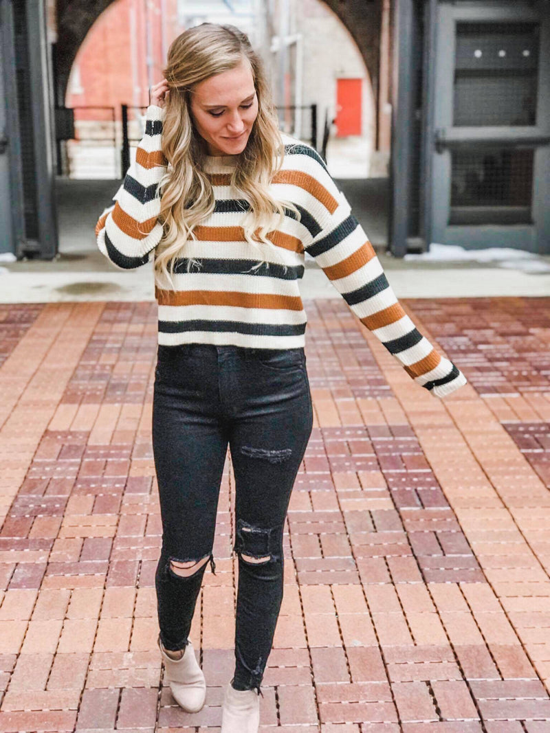 Kamryn Striped Sweater