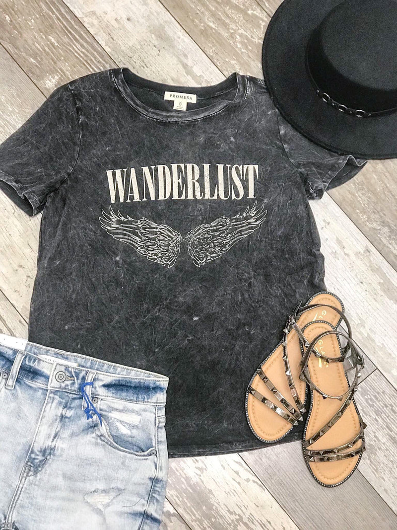 Wanderlust Graphic T-shirt