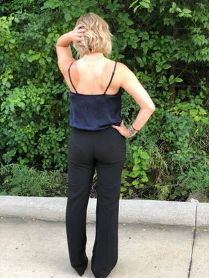 Daisy Black Dress Pants