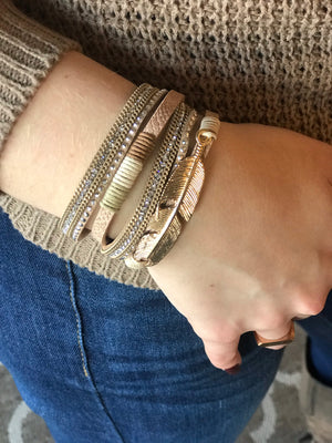 Hadlee Leather Wrap
