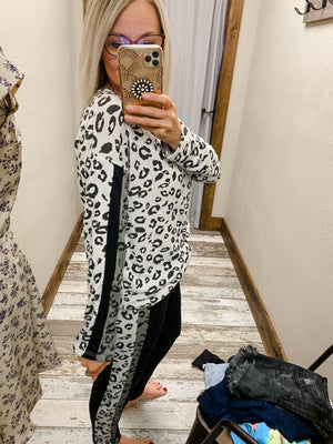 Cheetah Long Sleeve Top
