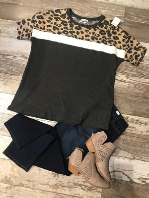 Leopard Colorblock