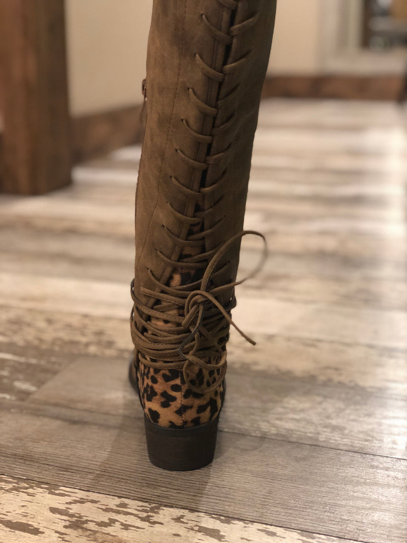 Marcel Lace Up boots