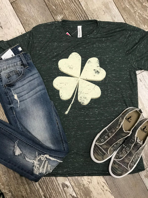 Shamrock Luck Graphic Tee