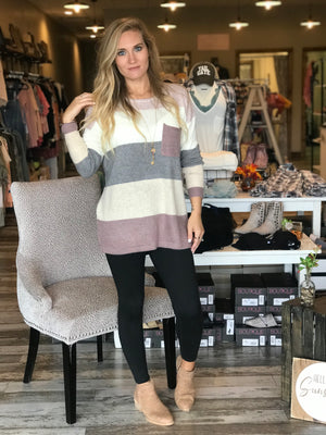 Isabella Color Block Tunic