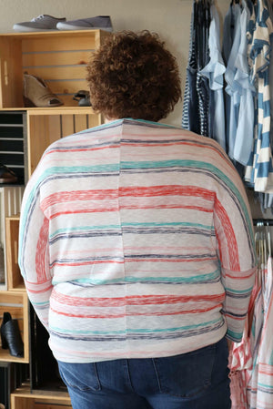 Sally Spring Boatneck Top