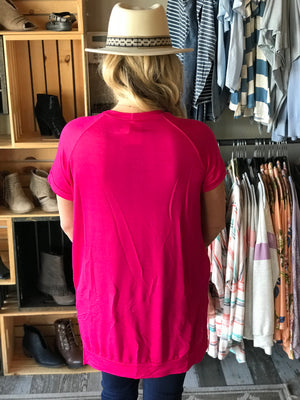 Rena Comfy High Low Tunic