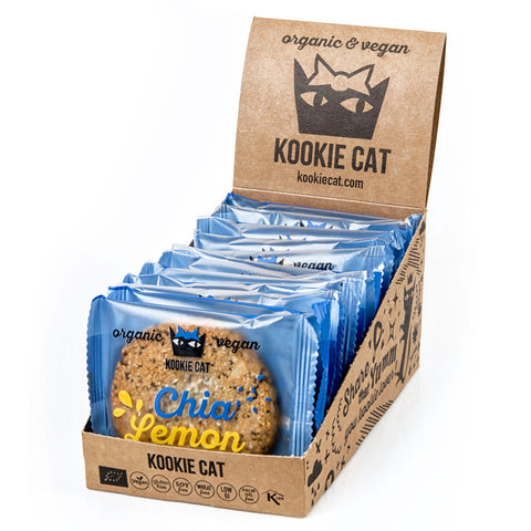 Kookie Cat Chia Lemon (12x50g)
