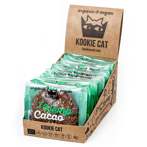 Kookie Cat Cacao Hemp (12x50g)