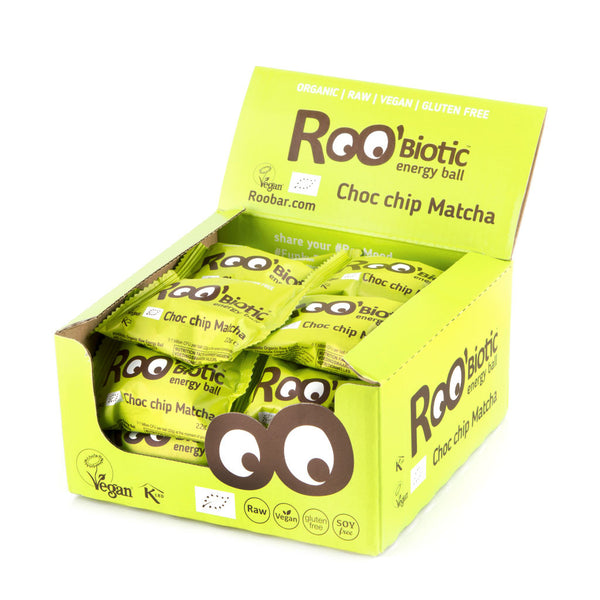 Roobiotic Choc Chip Matcha