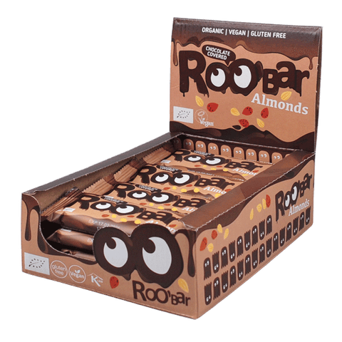 Roobar Chocolate Covered Almond (16x30g)