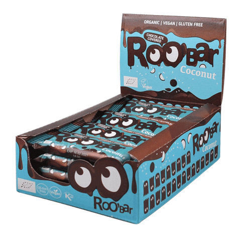 Roobar Chocolate Covered Coconut (16x30g)