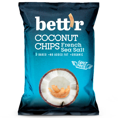 Bett'r Chips - French Sea Salt 8x40g