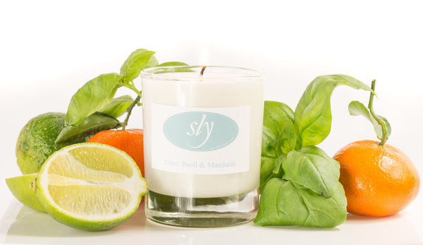 Lime, Basil & Mandarin Natural Plant Based Wax Candle
