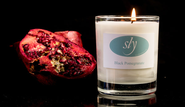Black Pomegranate Natural Plant Based Wax Candle