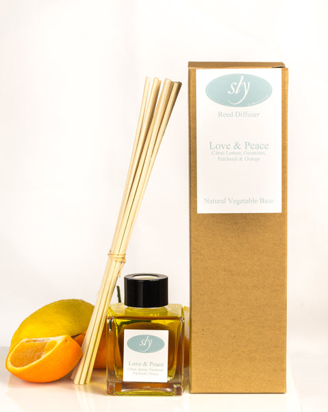Love & Peace Natural Vegetable Based Diffuser