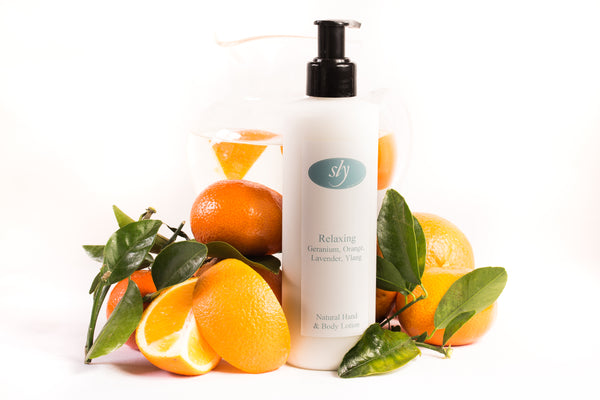 Relaxing Natural Hand & Body Lotion