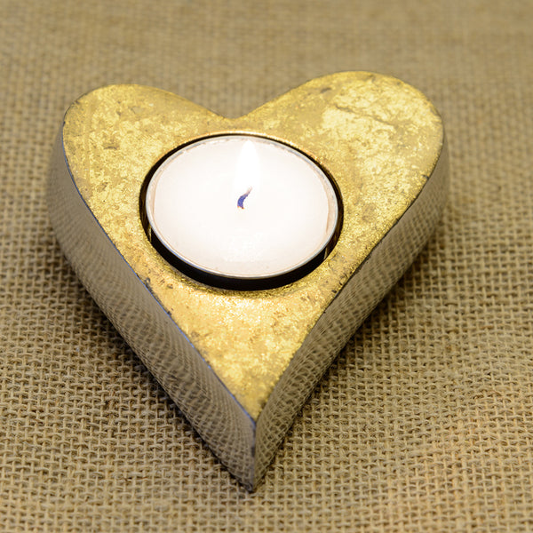 Heart Shaped Tea light Holder