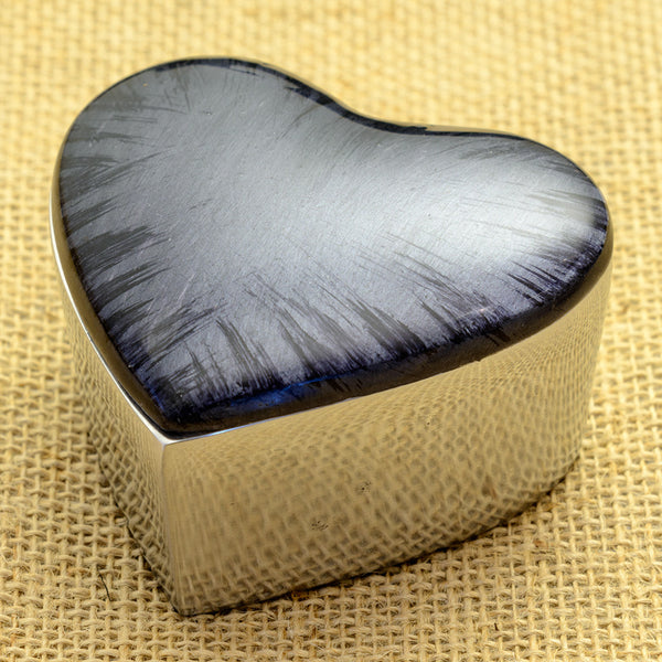 Midnight Blue Heart Box