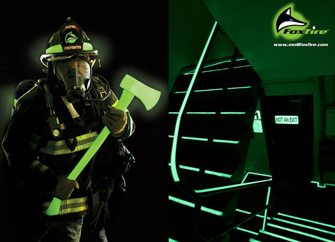 Foxfire firefighter and stairwell
