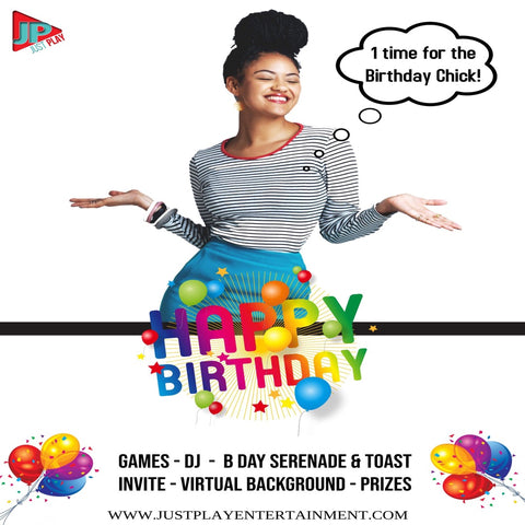 Virtual Birthday Package