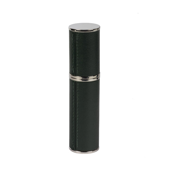 LEATHER PURSE ATOMIZER, GREEN
