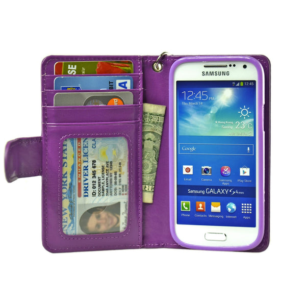 Samsung Galaxy S4 mini Wallet Case - Navor