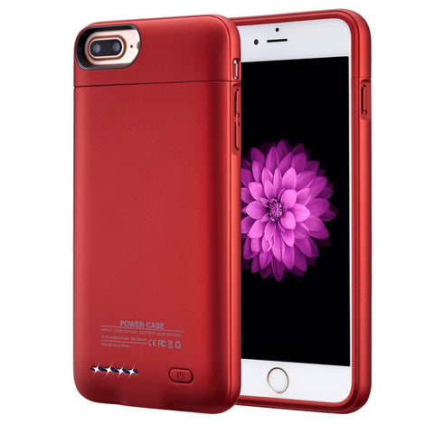 Navor iPhone 6/6s Plus, 7 Plus, 8 Plus Magnetic Battery Case 4200mAh