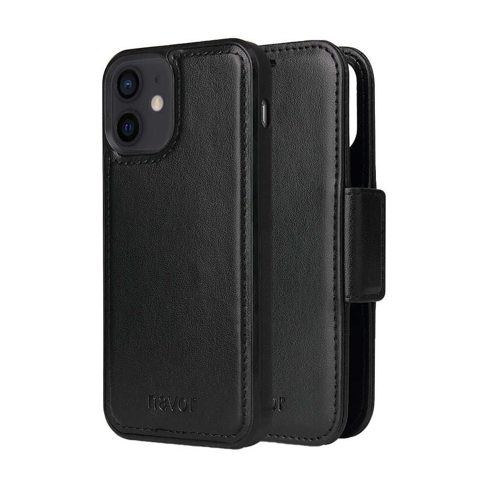 Vajio Series - iPhone 12 Mini Leather Wallet Case