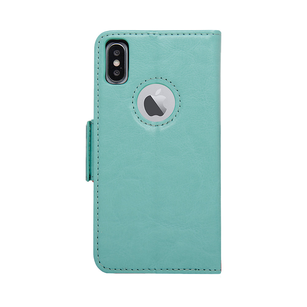 Vajio Series - iPhone X / XS Leather Wallet Case