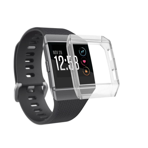 Navor Soft Silicone Clear Case Cover Protector Compatible with Fitbit Ionic