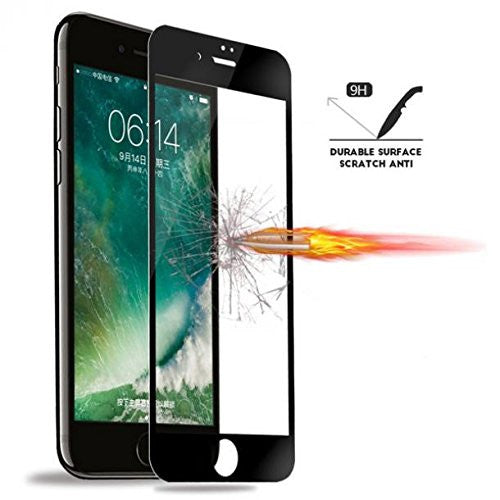 Navor iPhone 7 Plus HD Crystal Clear 5D Tempered Glass Screen Protector, over 9H Hardness Bubble Free Soft Edge