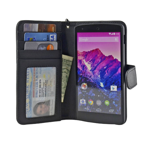 Google Nexus 5 Wallet Case - Navor