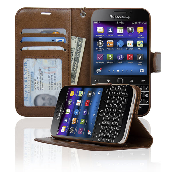 blackberry classic wallet case navor. Black Bedroom Furniture Sets. Home Design Ideas