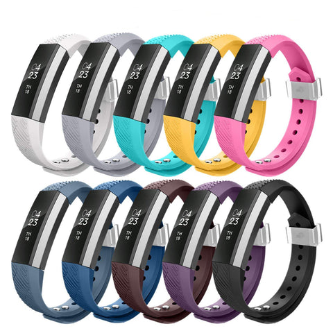 10PK Small Replacement Band Bracelet Straps Compatible for Fitbit Alta & Alta HR