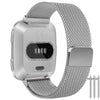 Small Stainless Steel Watch Band/ Bracelet Straps with Magnetic Closure for Fitbit Versa
