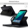 NAVOR Car Mount and Detachable Wallet Case for Google Pixel [RFID Protection] [Logo Hole]