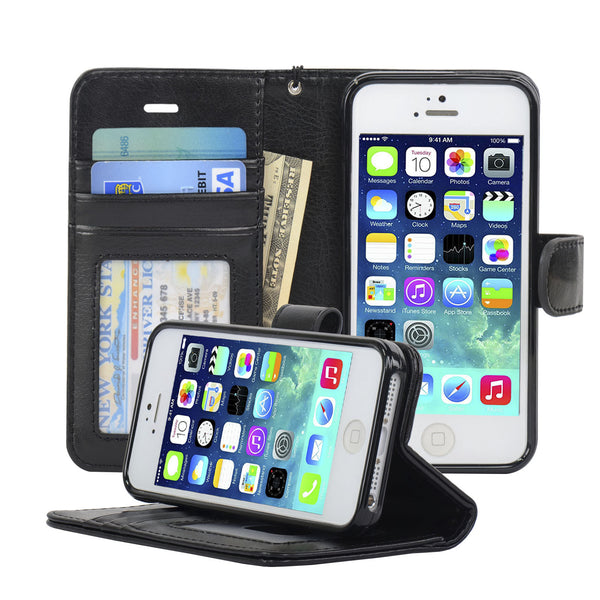Wallet iphone 5s cover