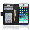 iPhone 5/5S Wallet Power Battery Case 2200 mAh - Navor
