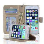 NAVOR iPhone 5 / 5S / (SE Ist Generration Only)  Wallet Case